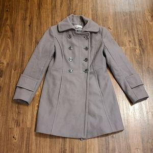 Kenneth Cole Gray Classy Coat
